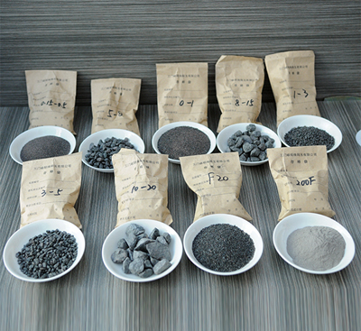many kinds of brown fused alumina