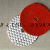 200# diamond dry flexible polishing pad