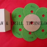 5'' dry flexible polishing pad