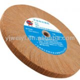 Non woven fly polishing wheel