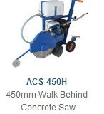 ACS-450H  450mm Walk Behind Concrete Saw
