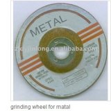grinding wheel for metal