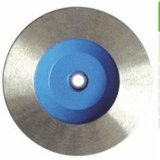 Sintered continuous rim cup wheel