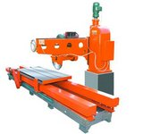 One-armed large cutting machine