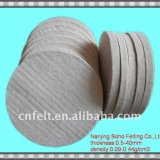 Sheep Wool Felt Buffing Pads