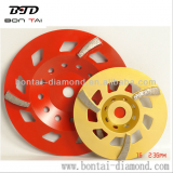 Floor grinding disc in 180mm for concrete