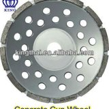 Single Row Cup Wheels For Concrete Grinding