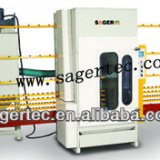 Hotsale Glass Abrasive Blasting Automatic Vertical Glass Sandblasting Machine