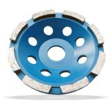Diamond Cup Grinding Wheel Single Row