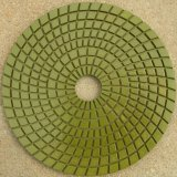125mm diamond wet polishing pad with resin bond