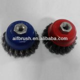 Heavy Duty Knotted Cup Brush