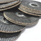 Fiberglass backing pads in abrasive tools