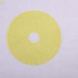 CNG85-14*14  C-glass fiber disc  with leno weave