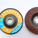DOUBLE-LAYER FIBER -GLASS FLAP DISC