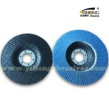 Abrasive flap disc backings