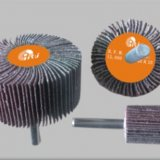 aluminium oxide cloth flap wheels with shaft
