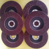 100*16  Red Aluminium Oxide Flap Disc