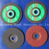 Red or Black Abrasive resin bonded  grinding  wheels
