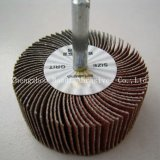 aluminium oxide  flap wheels with shaft