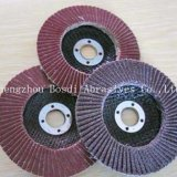100 115 125 150 180mm Competitive Calcined A/O Flap Disc