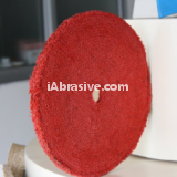 Red Bias Sisal Buff
