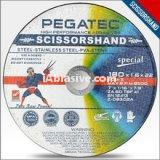 "ZA60TBF41 size 9"" PEGATEC-SCISSORSHAND providing any materials cutting and application under complex enviroment the latest technology endows the ALL-IN ONE function so there is no need to change the products frequently when cutting variou"