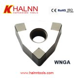 Halnn PCBN insert with good performance on finish turning hardened steel