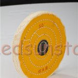 8 Inch Yellow Jewelry Sprial Sewn Polishing Wheel