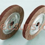 Top Quality Aluminum Oxide Abrasive Cloth Flap Wheel For Polishing And Grinding Steels And Metal