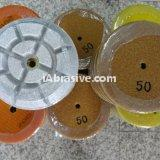 "Concrete Prep Resin Polish Pads Dry Polishing Pads 3"" Grits 50 to 3000"
