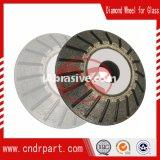 abrasive cutting disc for grinding glass