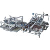 Glass edge finishing machine